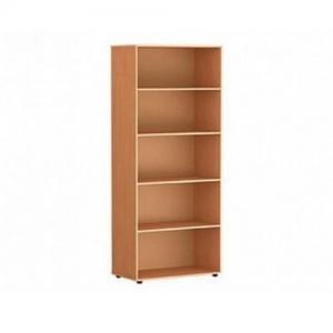 Шкаф-стеллаж для кабинета широкий открытый