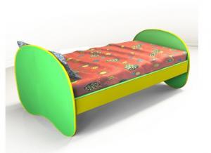 Кровать «Яблочко» 1200х600