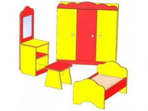 Спальня детская игровая 4 предмета