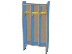 Шкаф для полотенец 3 секции, напольный