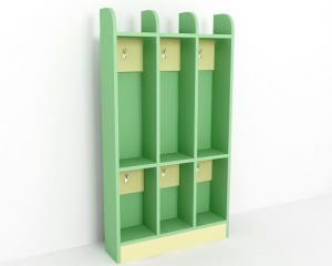 Шкаф для полотенец, 3 секции