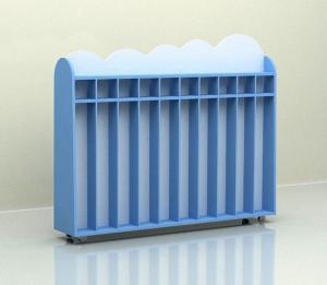 Шкаф для полотенец 10 секций «Облако»