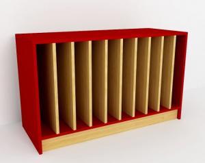 Шкаф для полотенец 10 секций, прямой