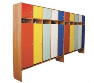 Шкаф для одежды пятитисекционный высокий