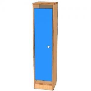 Шкаф для одежды односекционный, цоколь