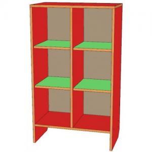 Шкаф для горшков 6 мест, вертикальный