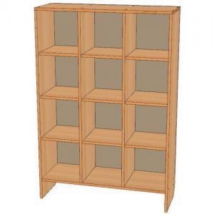 Шкаф для горшков 12 мест, вертикальный