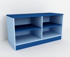 Шкаф для горшков 4 места широкий