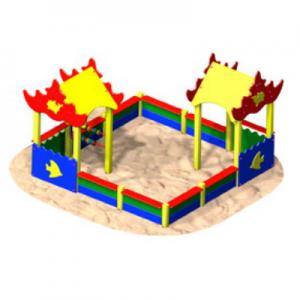 Песочный дворик «КОРАЛЛОВЫЙ РИФ»