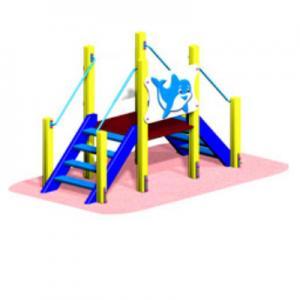 Мостик «ДЕЛЬФИН» для малышей