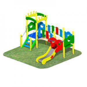 Детский игровой комплекс «КОРОЛЕВСТВО» мини