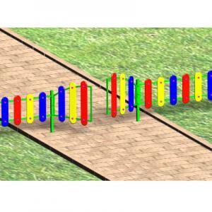 Ограждение игровой зоны h=0.7м