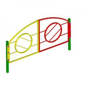 Ограждение игровой зоны металлическое (ворота)