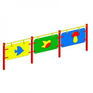 Ограждение игровой зоны «ДЕТСКОЕ» (секции заборчика)