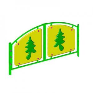 Ограждение игровой зоны «ЛЕСНАЯ ОПУШКА» (ворота)
