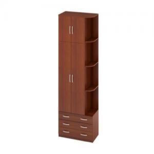 Офисный шкаф для одежды 890х450х2600