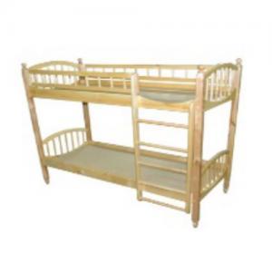 Кровать (2-х ярусная, массив)