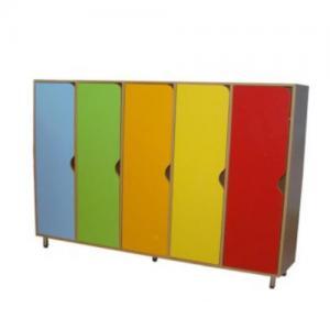 Шкаф для одежды (5-х секционный на рег. опорах)