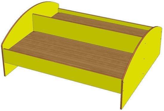 Кровать детская (2 места) 1200х600