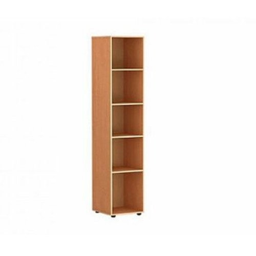 Шкаф-стеллаж для кабинета узкий открытый
