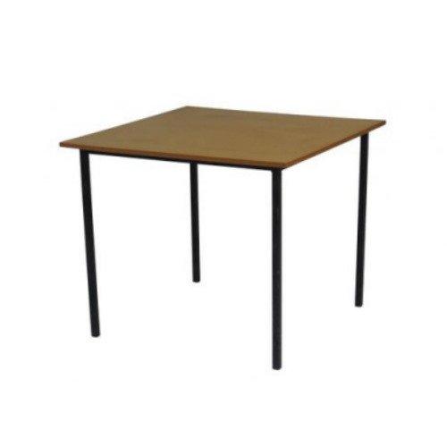 Стол для столовой обеденный четырехместный квадратный