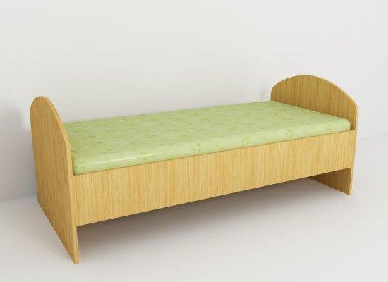 Кровать «Мила» 1200х600х600