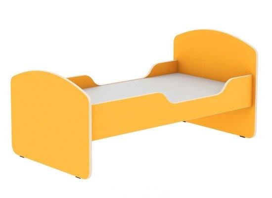 Кровать детская с двумя бортиками 1200х600х600