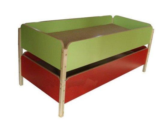 Кровать детская штабелируемая 1452х672х350