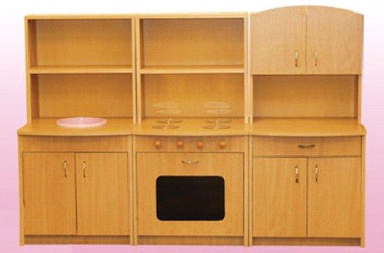Кухня игровая детская трехэлементная