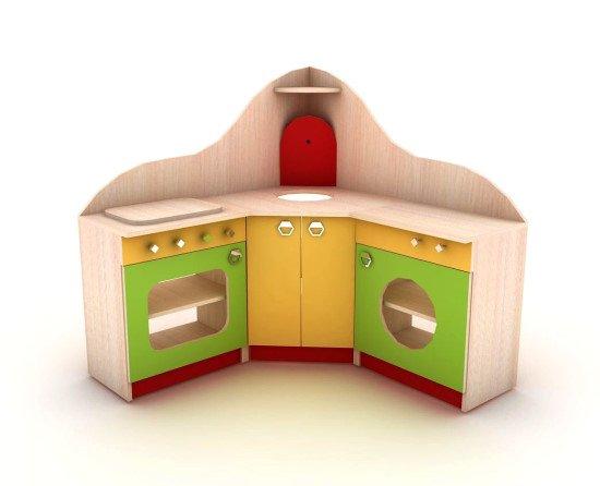 Кухня игровая детская угловая