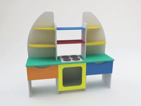 Кухня игровая детская «Радуга»