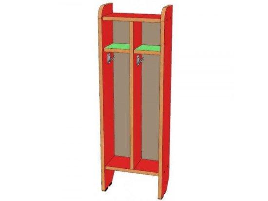 Шкаф для полотенец 2 секции, напольный