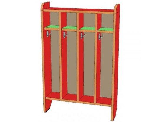 Шкаф для полотенец 4 секции, напольный