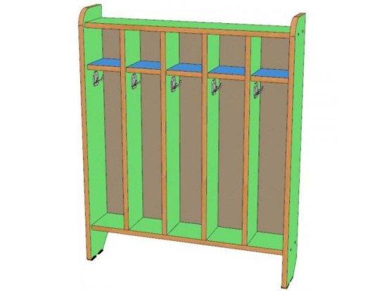 Шкаф для полотенец 5 секций, напольный