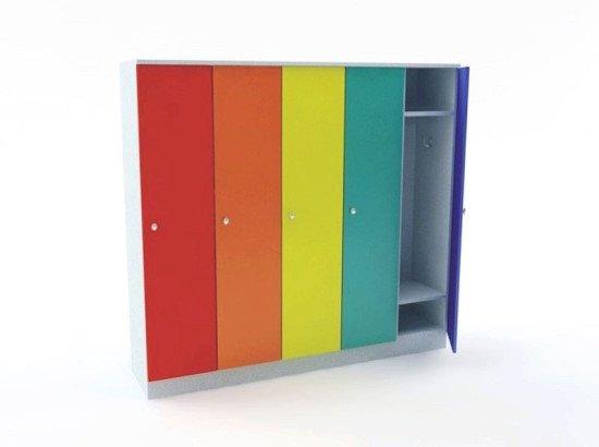 Шкаф для одежды пятисекционный «Радуга»