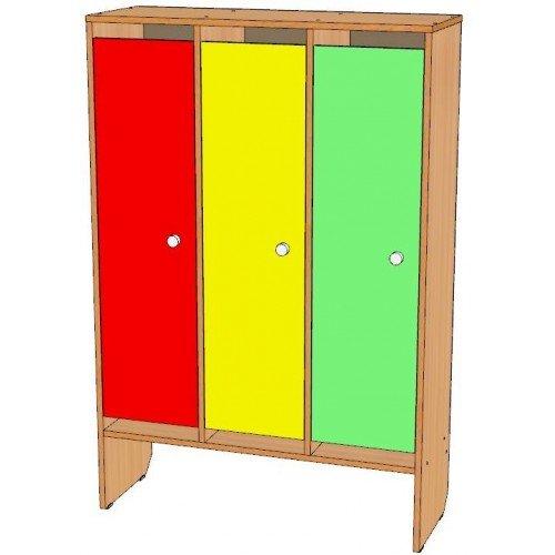 Шкаф для одежды трехсекционный