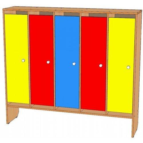 Шкаф для одежды пятисекционный