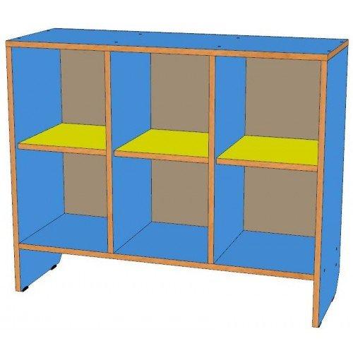 Шкаф для горшков 6 мест, горизонтальный