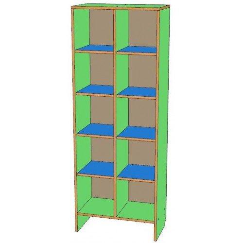 Шкаф для горшков 10 мест, вертикальный