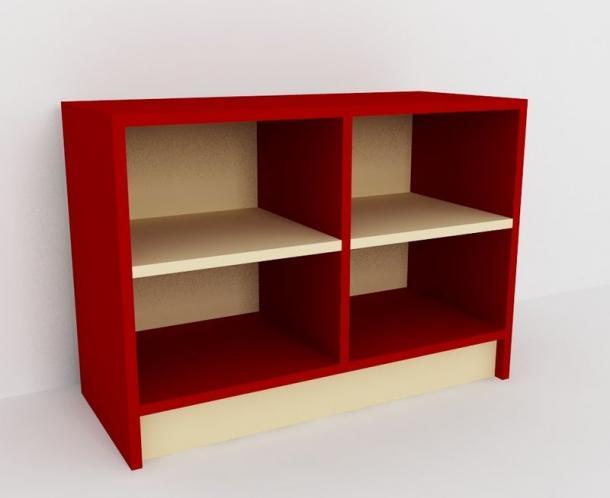Шкаф для горшков 4 места