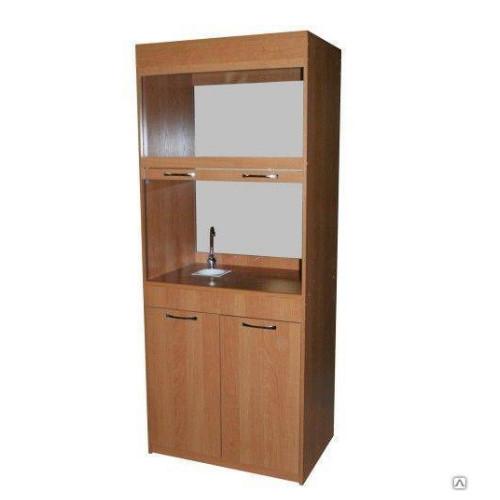 Шкаф для кабинета химии  вытяжной с сантехникой