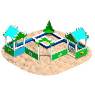 Песочный городок «ЗИМНЯЯ СКАЗКА»