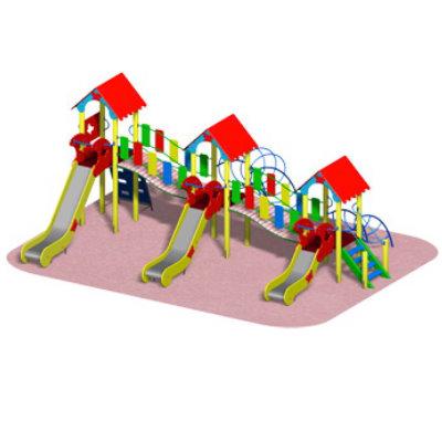 Детский игровой комплекс «ТРИ ГОРКИ»