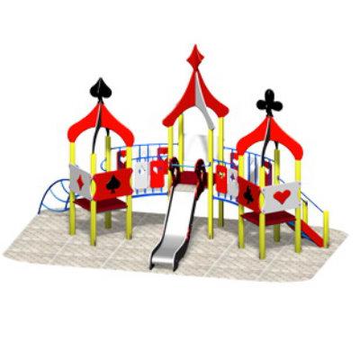 Детский игровой комплекс «КАРТОЧНЫЙ ДОМИК»