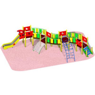 Детский игровой комплекс «ЗМЕЙКА»