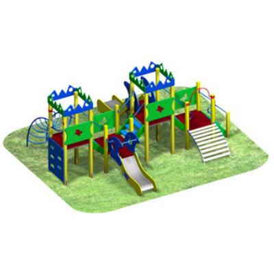 Детский игровой комплекс «ЗИГ-ЗАГ»
