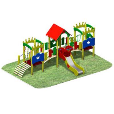 Детский игровой комплекс «КОРОЛЕВСТВО-2»
