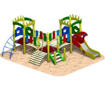 Детский игровой комплекс «КОРОЛЕВСТВО-1»