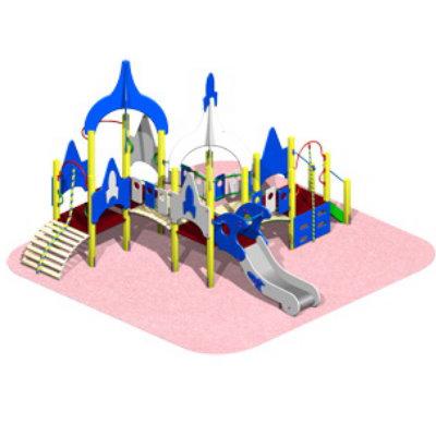 Детский игровой комплекс «КОСМОДРОМ» мини