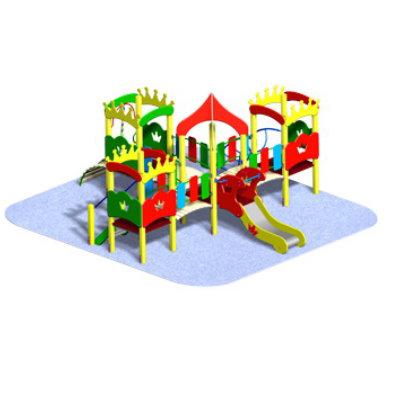 Детский игровой комплекс «КОРОЛЕВСТВО-3»